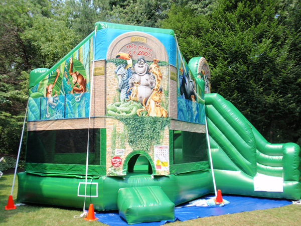 Zoo Club Bounce House