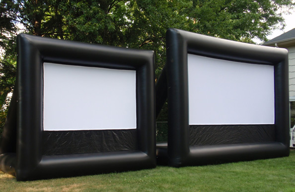 Inflatable Backyard Movie Screen - New Jersey Outdoor Movies|Inflatable Movie Screen Rentals |